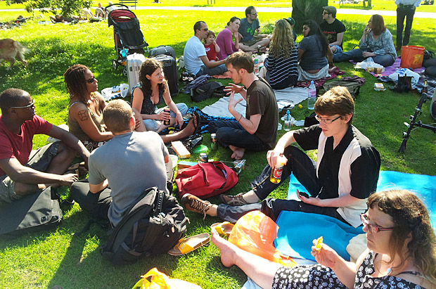 Brockwell Park picnic