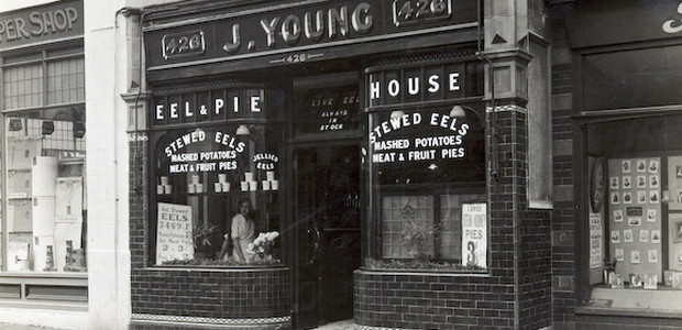 Brixton's lost Eel And Pie House, Coldharbour Lane SW9