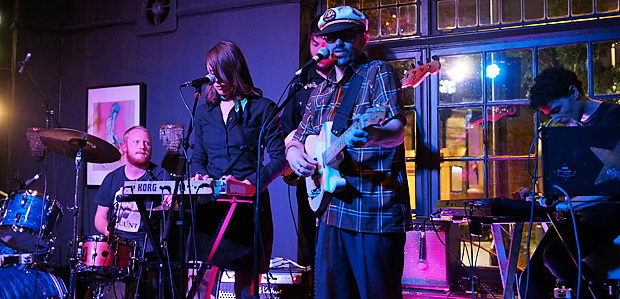 Morton Valence and the Mountain Of Love return to the Railway Tavern, south London,