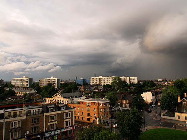 Some really mean storm clouds are gathering over Brixton