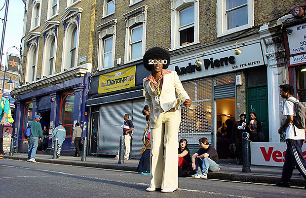 Remembering old Brixton: Car Free Day 2000