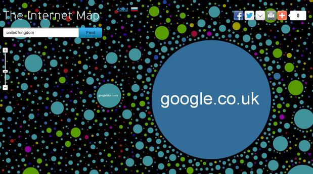 he internet map