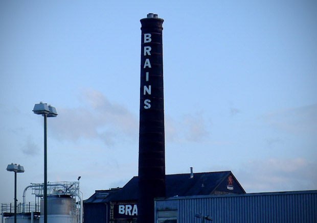 Great welcoming sites of Cardiff #1. The Brains tower