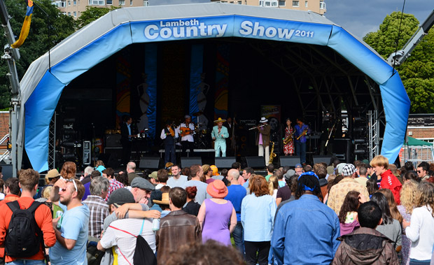 It's the Lambeth Country Show 2012 weekend (15/16th Sept)! Line up details here