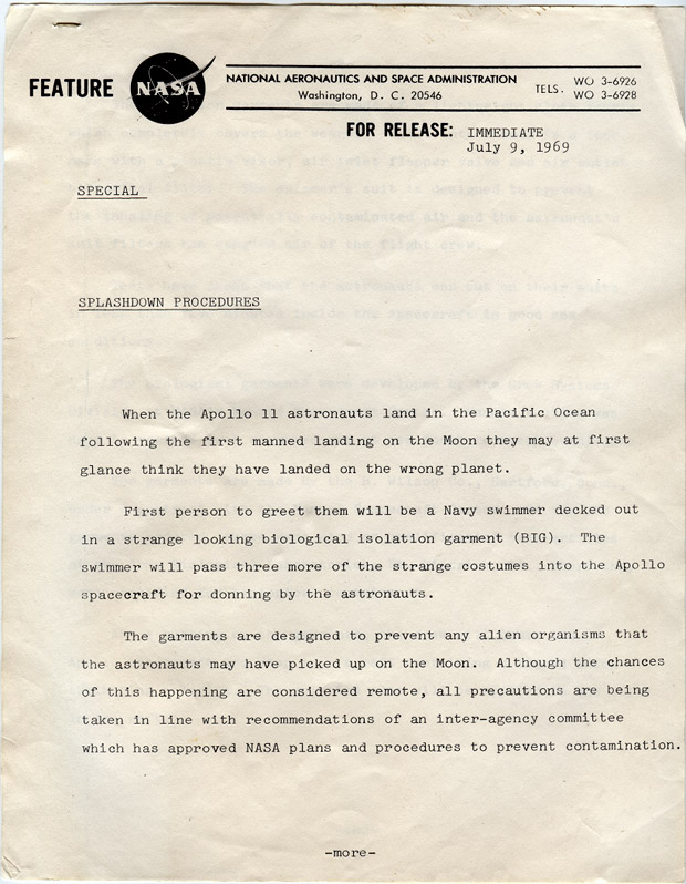 Unearthed! NASA's reply to my astronaut application in 1969