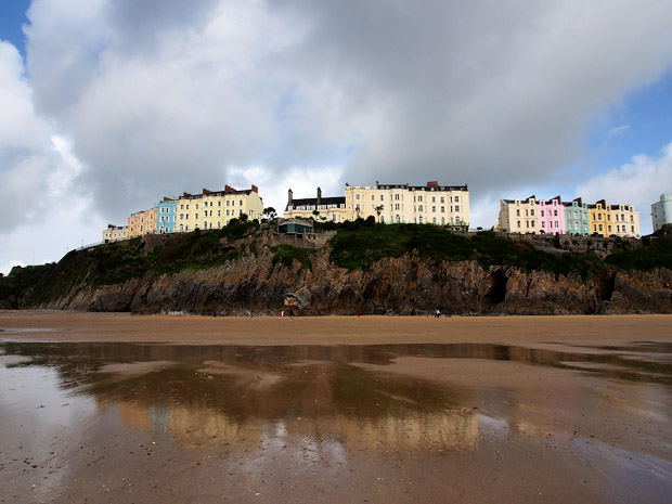 A late summer stroll along the splendid beaches of Tenby, west Wales