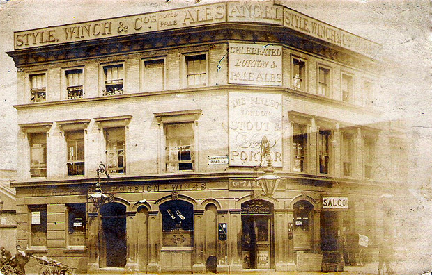 The Angel pub, Coldharbour Lane, Brixton and its Edwardian music hall connections