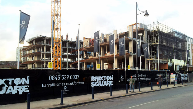 Barratt Homes, Brixton Square and the fight to retain affordable housing in Brixton