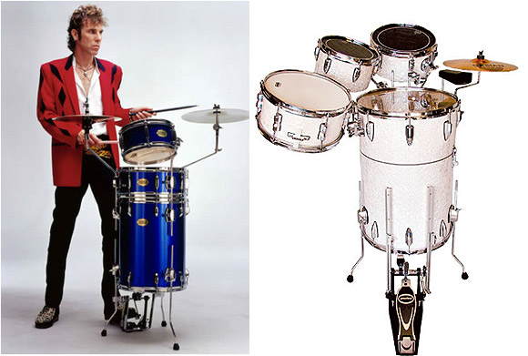 Building an extra small, extra-nimble, super-portable drum kit for gigging drummers