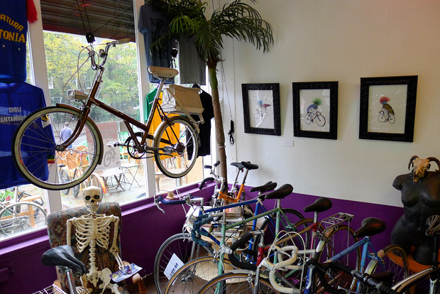 Cycooldelic Cycles, Brixton Road, Brixton - old school bike shop for the cycling cognoscenti