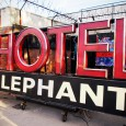 Established in late 2009, Hotel Elephant is a creative space located around the back of the notorious Heygate Estate in Elephant and Castle, south London.