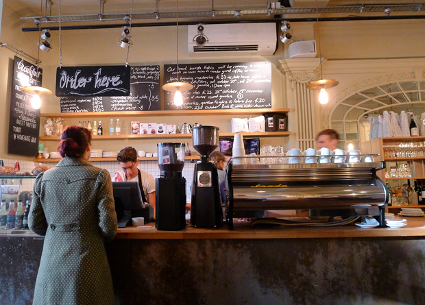 A visit to Notes Coffee, 31 St Martins Lane, Trafalgar Square, London
