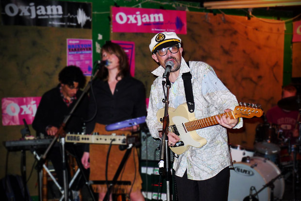 Brixton Oxjam music festival - some photos