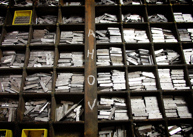 A visit to the St Bride Foundation print Workshop, Fleet Street, London