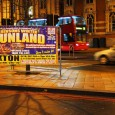 "The large posters promised a festive ""Funland"" in the heart of Brixton, but there was a pretty austere offering on show at the 'Bensons Winter Funland' in Windrush Square tonight."