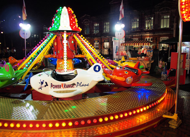 Bensons Winter Funland, Windrush Square, Brixton