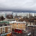 There's a mean and moody sky looming over Brixton right now.  Hope it's not an omen for the New Year!