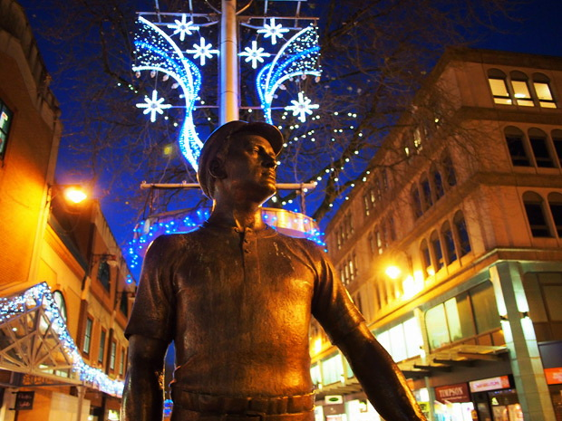 Cardiff Christmas lights, 2012