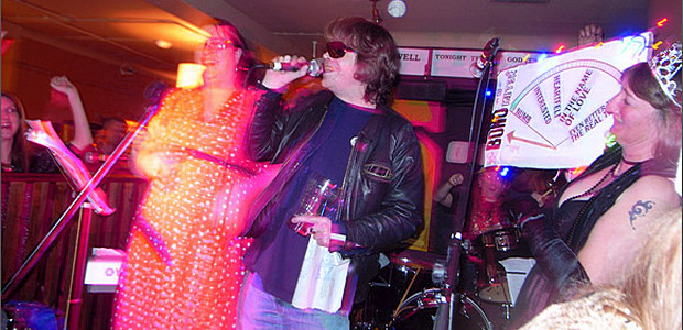 Friday 21st Dec in Brixton: an almighty Mrs Mills singalong with a Brixton's Best Bono competition