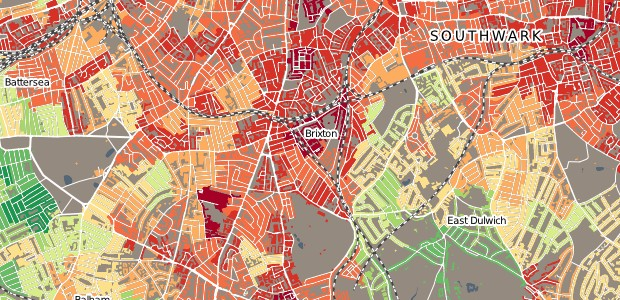 Brixton poverty and wealth map reveals the area's rich and poor divide