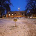 A walk around the snowy streets of Brixton, January 2013