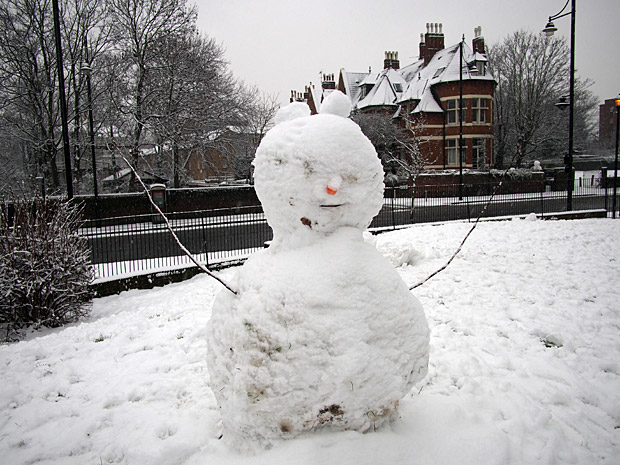 Brixton snow and snowmen, Windrush Square, Loughborough Park and Coldharbour Lane-09