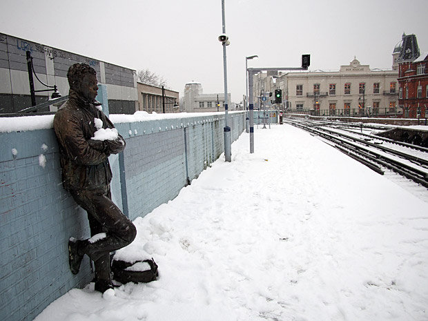 Brixton snow and snowmen, Windrush Square, Loughborough Park and Coldharbour Lane-13