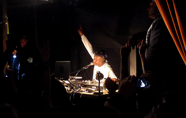 Grandmaster Flash rocks the Brixton Dogstar