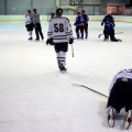 Streatham Night Wolves versus Statesmen ice hockey match, Brixton Ice Rink, Sat 12th Jan 2013