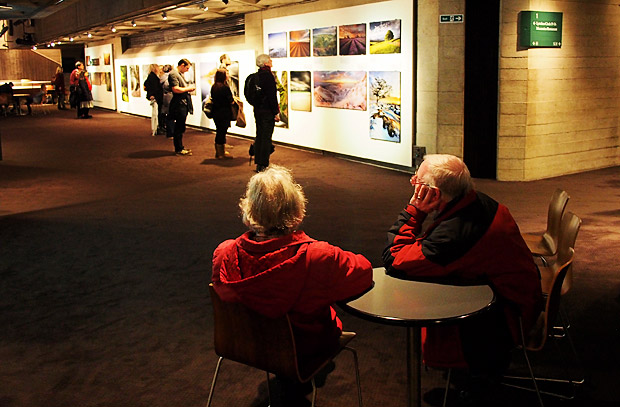 Landscape Photographer of the Year 2012 at the National Theatre, London