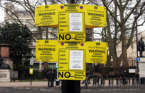 Pic of the day: No Parking, London