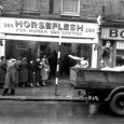 This busy scene on 384 Coldharbour Lane, Brixton shows crowds queuing outside a store advertising  'Horse Flesh for Human Consumption'  while a lorry unloads more meat. The photo was taken on January […]