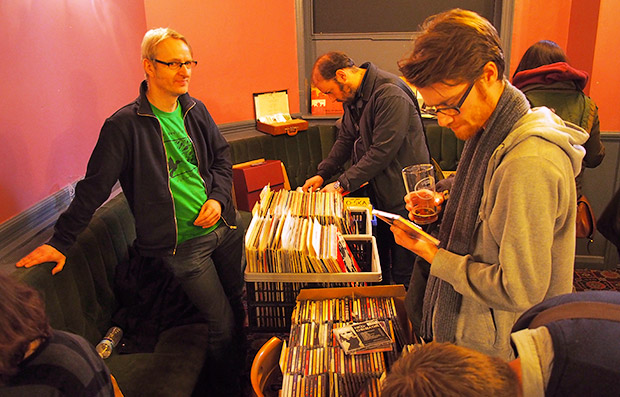Brixton's first record fair at The Canterbury Arms, Sat 23rd Feb - photo report