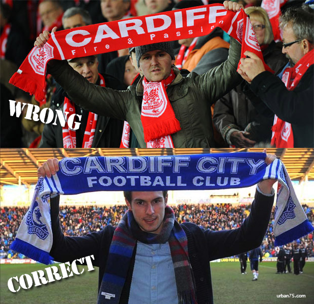 Cardiff City FC: a simple guide to scarf etiquette