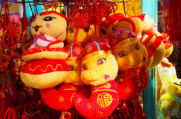 Chinese New Year 2013 - the Year of the Snake in London