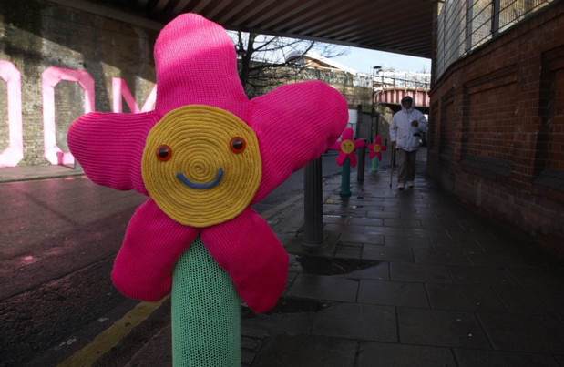 Toyota team up with Knit the City urban artists to 'whiten' Brixton's image