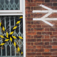 Spotted yesterday – a hand-painted British Railways logo painted on to the wall of Otford railway station in Kent, next to a damaged window covered in hazard tape. Formed of two...