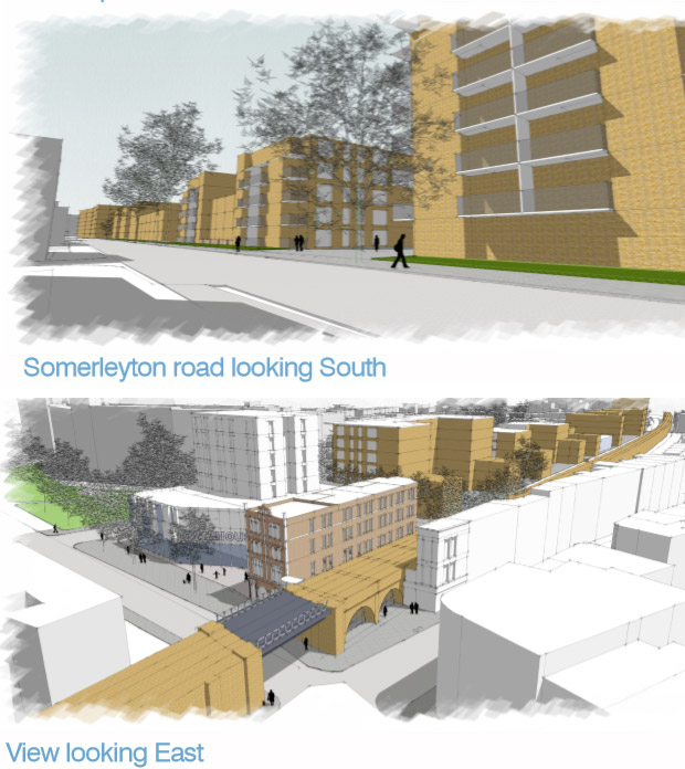 Somerleyton Road, Brixton redevelopment and Oval House theatre: provisional plans released