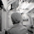 This photo of an old lady travelling on the Epping to Ongar tube line in the 1980s has always been one of my favourite photos, although I'm not entirely sure why.
