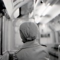 Pic of the day: old lady on the Essex to Ongar tube train, 1980