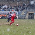 Local lower division football heroes Dulwich Hamlet fought a tough game yesterday, battling against strong winds and driving snow to triumph 3-0 over Whitstable Town.