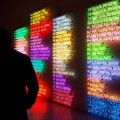 Neon and green fluorescent lights: Bruce Nauman exhibition at Hauser & Wirth, London