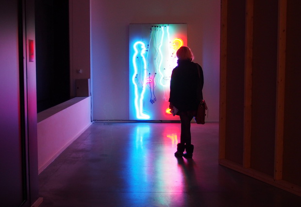 Bruce Nauman exhibition at Hauser & Wirth, London