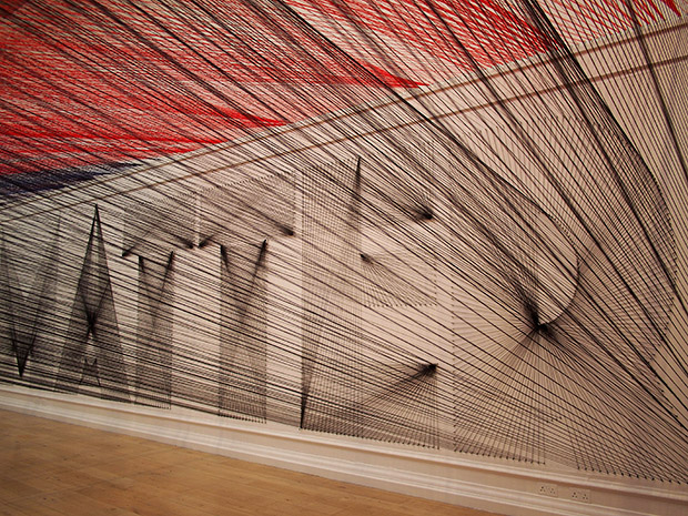 Pae White spins out mesmerising yarn patterns at the South London Gallery
