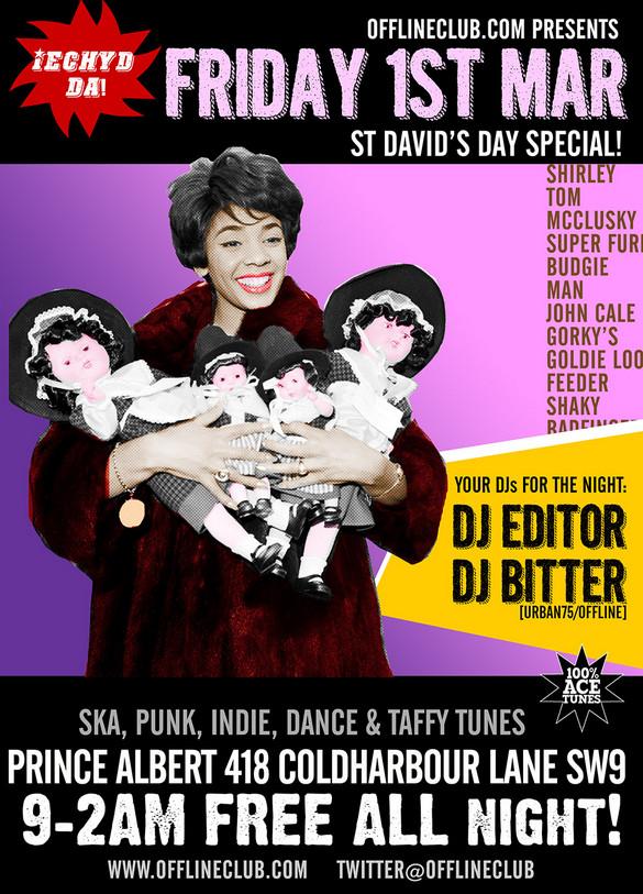 Offline Club St David's Day club night
