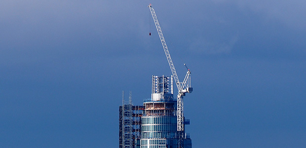 St George Wharf Tower - Vauxhall Tower - nears completion