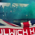 A very lively away crowd saw Dulwich Hamlet comfortably see off local rivals Tooting & Mitcham in the NK Stadium in deepest Morden yesterday. The game had it all: passion, goals, smoke...