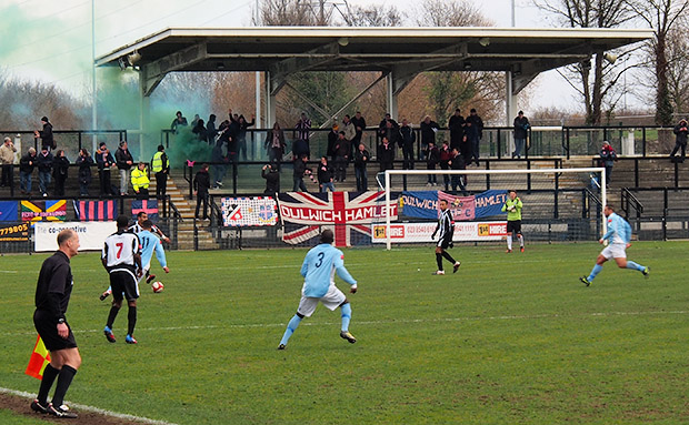 Dulwich Hamlet sweep past local rivals Tooting and Mitcham in lively match