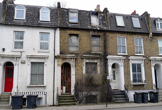 Is this Brixton's longest abandoned house?