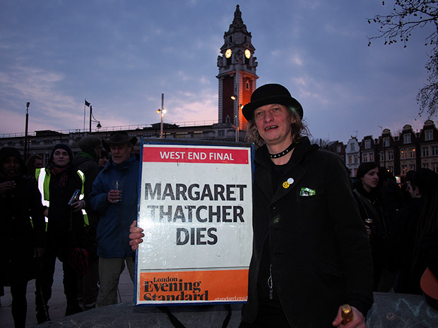 The Brixton Thatcher party - more photos